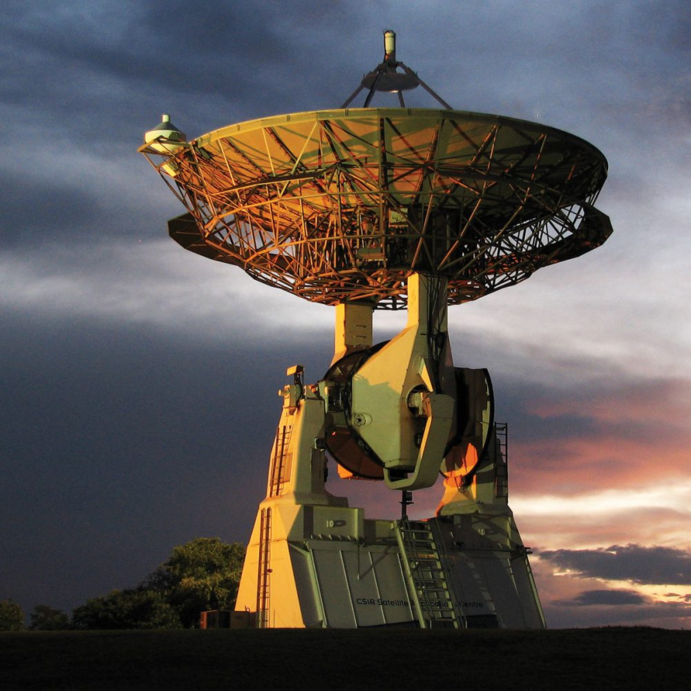 Gigantic Satellite