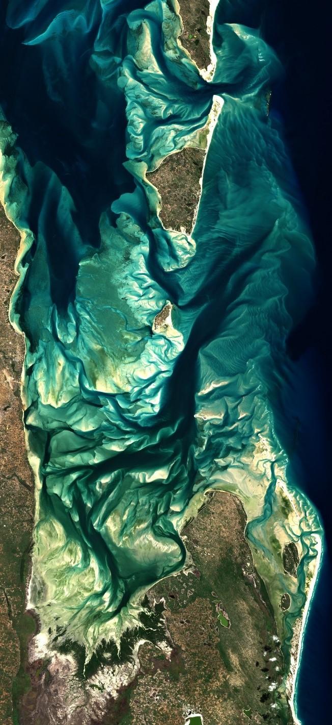 Sentinel 2 satellite image