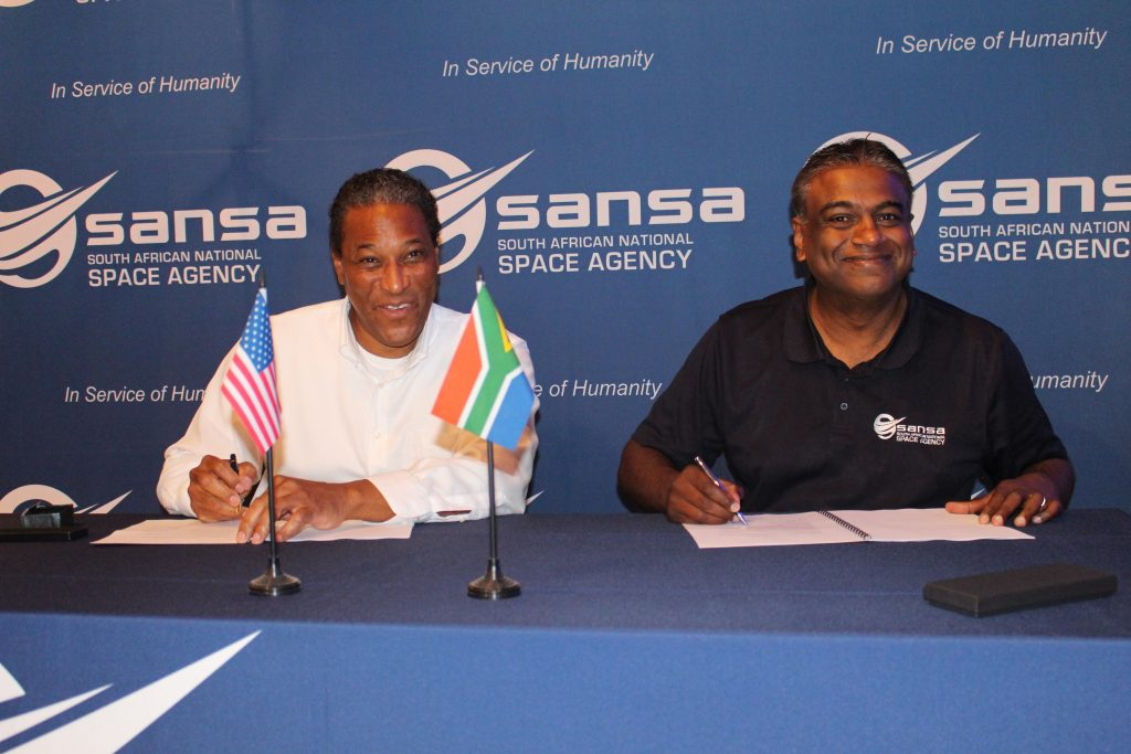 SANSA/NASA study Agreement.