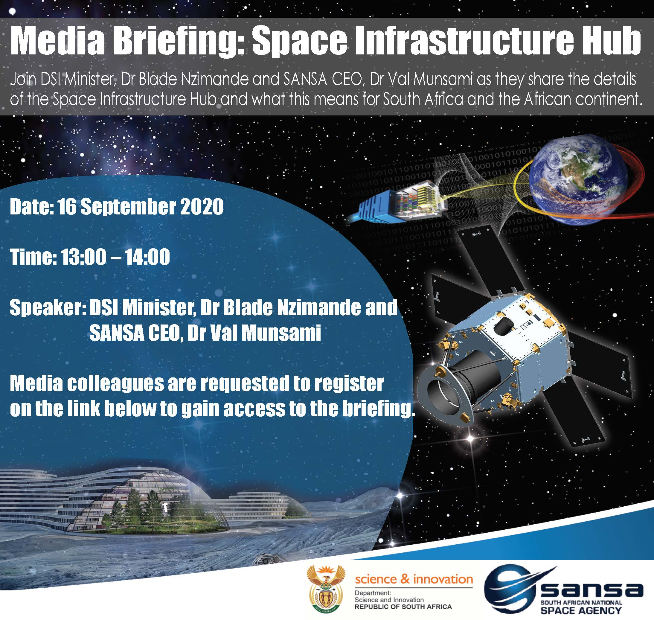 Media Briefing - Space Infrastructure Hub