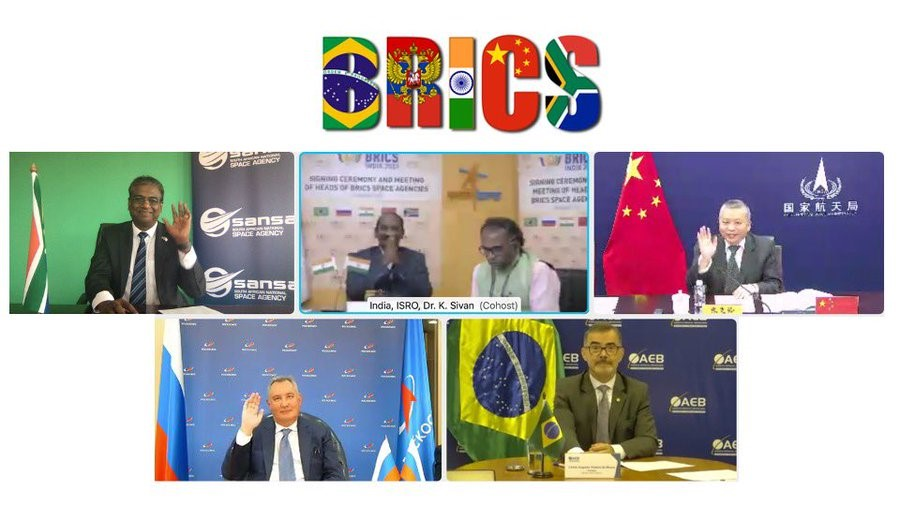 BRICS nation signing Space Agreement