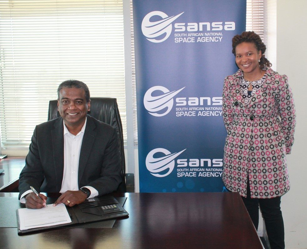 SANSA signing the Agreement