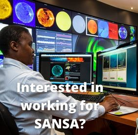 Interested in working for SANSA?
